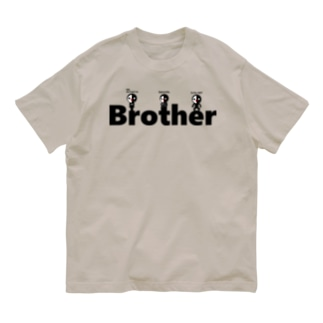Anonymous brother (ver.LOGO) Organic Cotton T-shirts