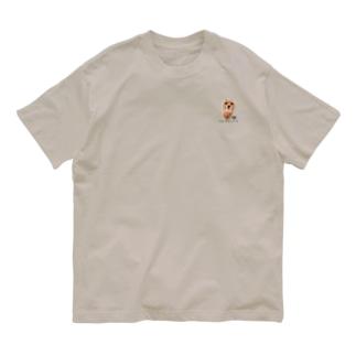 ワンポイントしばふ Organic Cotton T-shirts