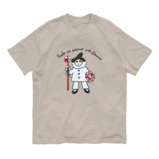 ピエロに扮した男の子 Organic Cotton T-Shirt