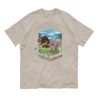 ティラノサウルス Organic Cotton T-shirts