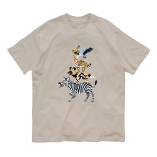 アフリカの音楽隊 Organic Cotton T-shirts