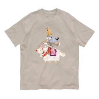 チベットの音楽隊 Organic Cotton T-shirts