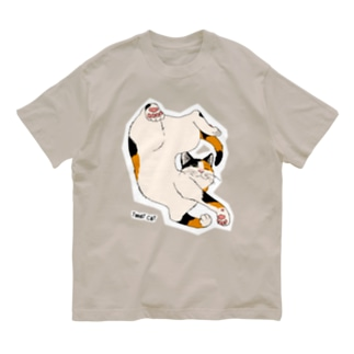 ねじれ猫 Organic Cotton T-shirts