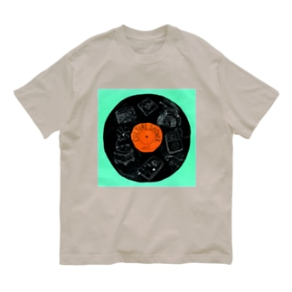 """RECORD"" Organic Cotton T-shirts"