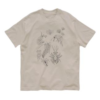 びせいぶつんん Organic Cotton T-Shirt