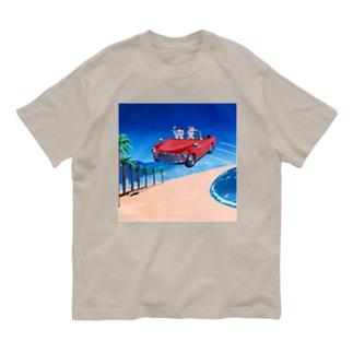 ビーチ Organic Cotton T-Shirt