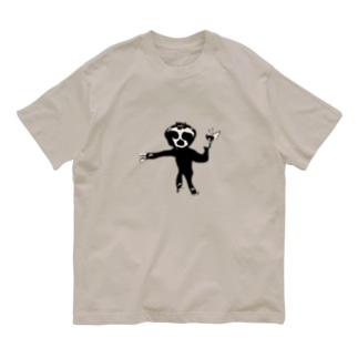 口で描いたぺれぞう Organic Cotton T-shirts