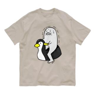 """足ザラシ""""トイレ"""" Organic Cotton T-Shirt"""