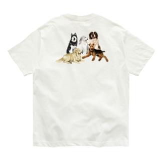 大きい犬たち Organic Cotton T-shirts