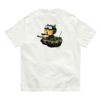 ネコマル式戦車 Organic Cotton T-shirts