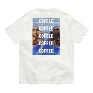アイスコーヒー(実写) Organic Cotton T-Shirt