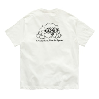 CKCS_丸眼鏡 Organic Cotton T-Shirt