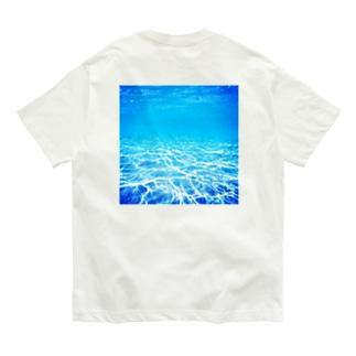 沖縄の海 Organic Cotton T-shirts