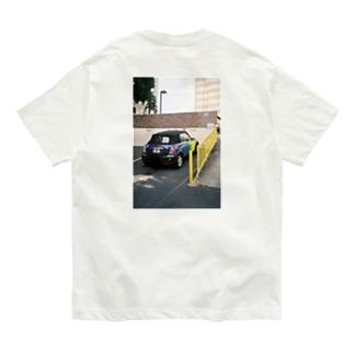 rainbow car Organic Cotton T-Shirt