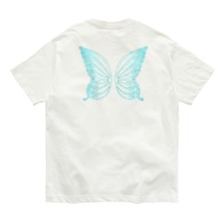 ラベンダーポエミュウ Organic Cotton T-shirts