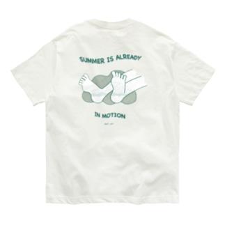 夏はもう動き出してる Organic Cotton T-shirts