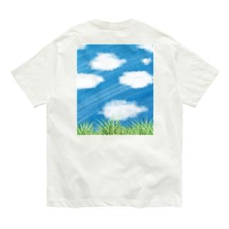 空を見上げて。 Organic Cotton T-shirts