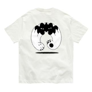 地に足つかず Organic Cotton T-shirts
