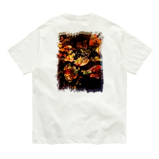 flower Organic Cotton T-shirts