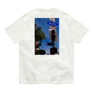 Californian Hill(バックプリント) Organic Cotton T-shirts