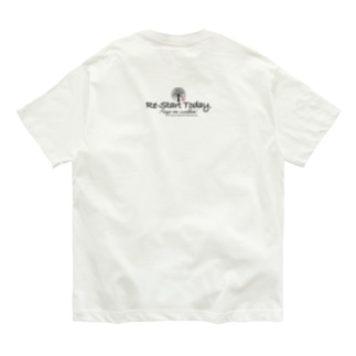 Re-start Today ver.2.0 Organic Cotton T-shirts