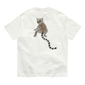 💕 with ワオキツネザル❤️ Organic Cotton T-Shirt