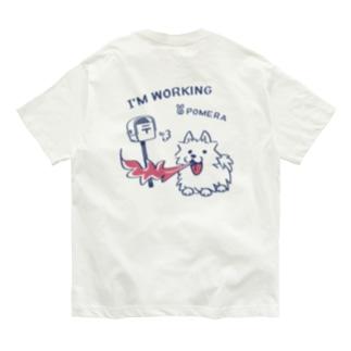 バックプリント*CT47 POMERA_3 I'M WORKING Organic Cotton T-Shirt