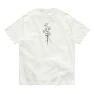 antique flower Organic Cotton T-Shirt