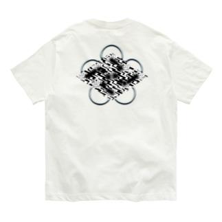 卍五ツ灰 雷時雨 Organic Cotton T-Shirt