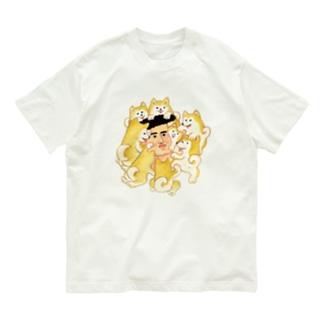 犬まみれ Organic Cotton T-shirts