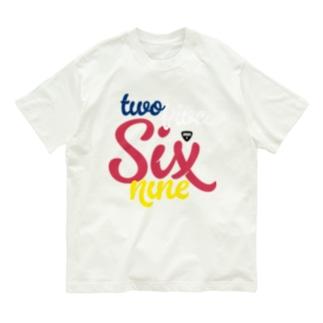 twofiveSixnine2569 Organic Cotton T-shirts