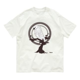 鳥グッズ(タイハクオウム) Organic Cotton T-shirts