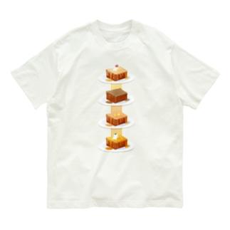 本日のハニートースト Organic Cotton T-shirts