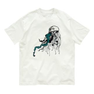 漂うクラゲ Organic Cotton T-shirts