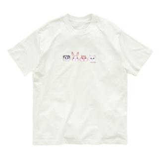 4匹のお友達 Organic Cotton T-Shirt
