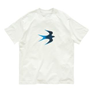青い鳥 Organic Cotton T-shirts