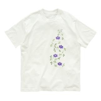 鉄扇の花 Organic Cotton T-shirts