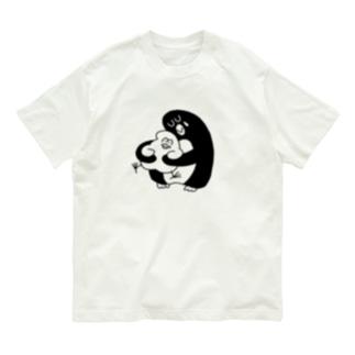 大きなペンギン Organic Cotton T-shirts