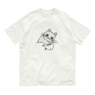 子猫ちゃん Organic Cotton T-shirts