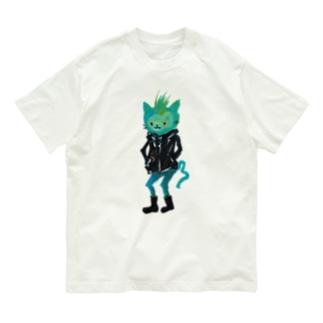 ねこびとさん(ジョエル) Organic Cotton T-shirts