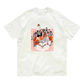 不機嫌猫2 Organic Cotton T-shirts