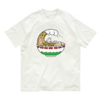 ラーメンUSA Organic Cotton T-shirts