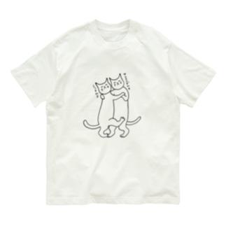 足踏みダンス Organic Cotton T-Shirt