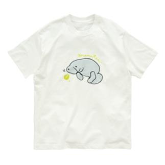 マナティーラブ Organic Cotton T-shirts