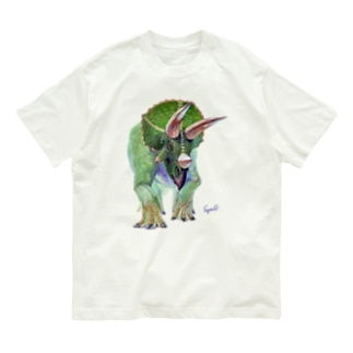 Triceratops Organic Cotton T-shirts