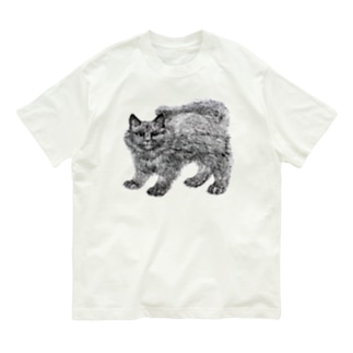 segasworksのふわふわの仔猫 Organic Cotton T-shirts