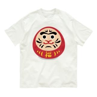だるまん Organic Cotton T-shirts