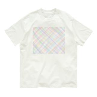ほんわか優しいクロス模様Ⅱ Organic Cotton T-Shirt