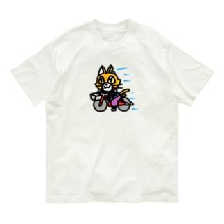 ごきげんバイセコー Organic Cotton T-shirts