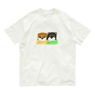 柴犬赤ちゃんズ Organic Cotton T-shirts